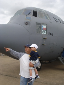 P and dad 102509 airshow