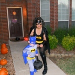 Batman and Batgirl ready for action!