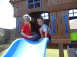 Just seeing what we can throw down the slide