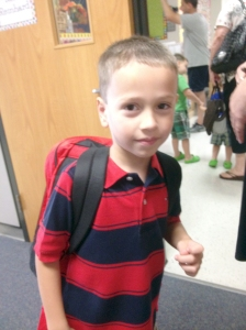Flashback: 1st day of school