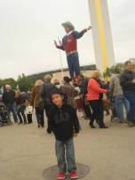 Big Tex is the one pointing with the hat on